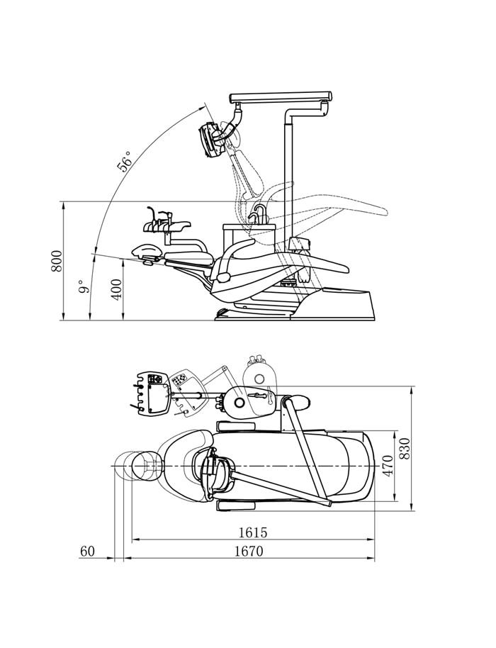 Aj22儿童椅尺寸 Model
