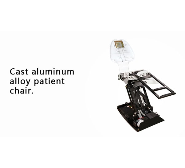 cast aluminum alloy patient chair