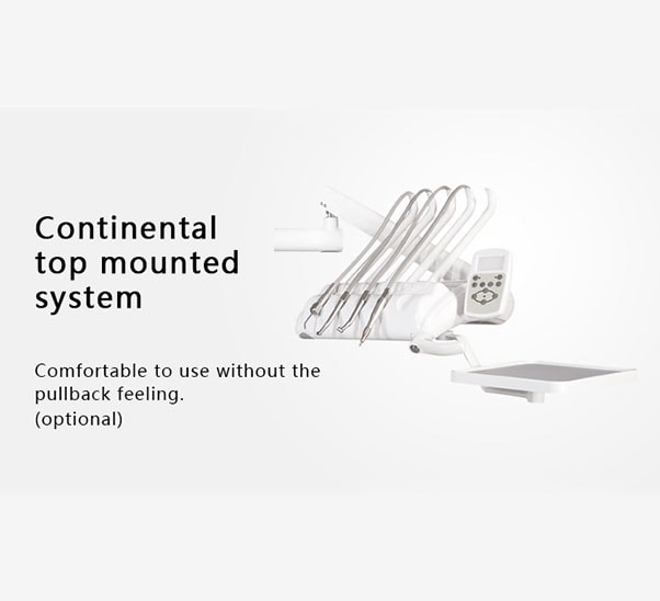 continental top mounted system