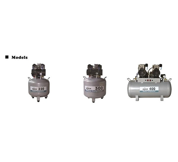 Ajax400 Oilless Compressor Models