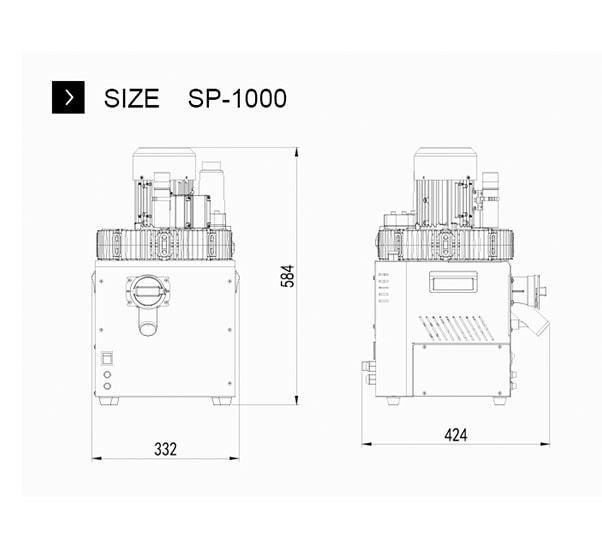 SP 1000 size sp 1000