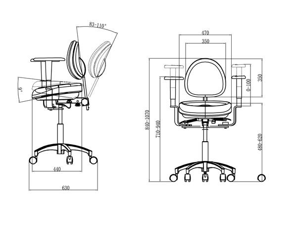 Js00481 D9医生椅尺寸图 Modelsmall